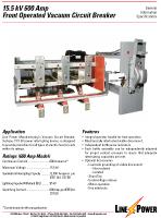 15kv 600 Amp VCB