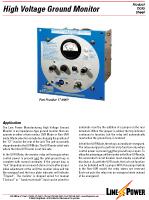 High Voltage Ground Monitor