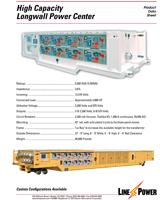 High Capacity Longwall Power Center