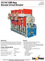 15.5kv 1200 Amp VCB