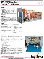 DTS VCB Draw Out Vacuum Circuit Breaker
