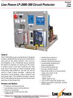 LP2600 300 Circuit Protector