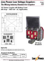 Series 107 Low Voltage Coupler