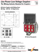Series 64 Low Voltage Coupler