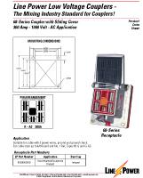 Series 68 Low Voltage Coupler