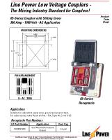 Series 69 Low Voltage Coupler