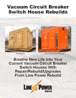 VCB Switch House Rebuild Brochure