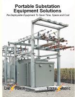 Portable Substation Equipment Solutions