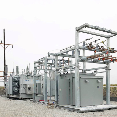 Re deployable portable substation for utility application
